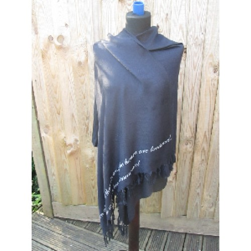 Indigo Pashmina - only £1 in the sale!