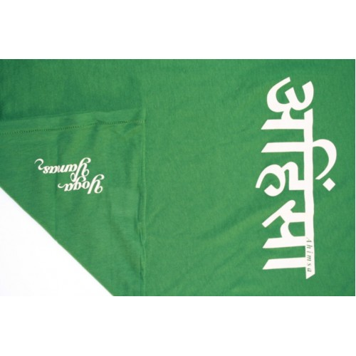 Womens Ahimsa T-shirt - green  £23